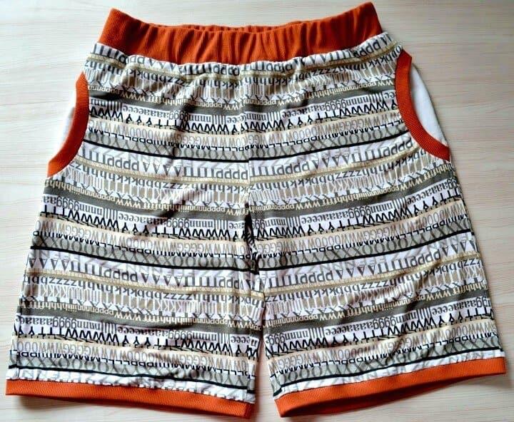 Shorts de mujer DIY Sew Jersey