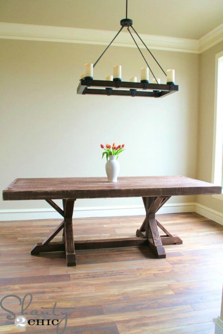 Mesa de comedor DIY 110