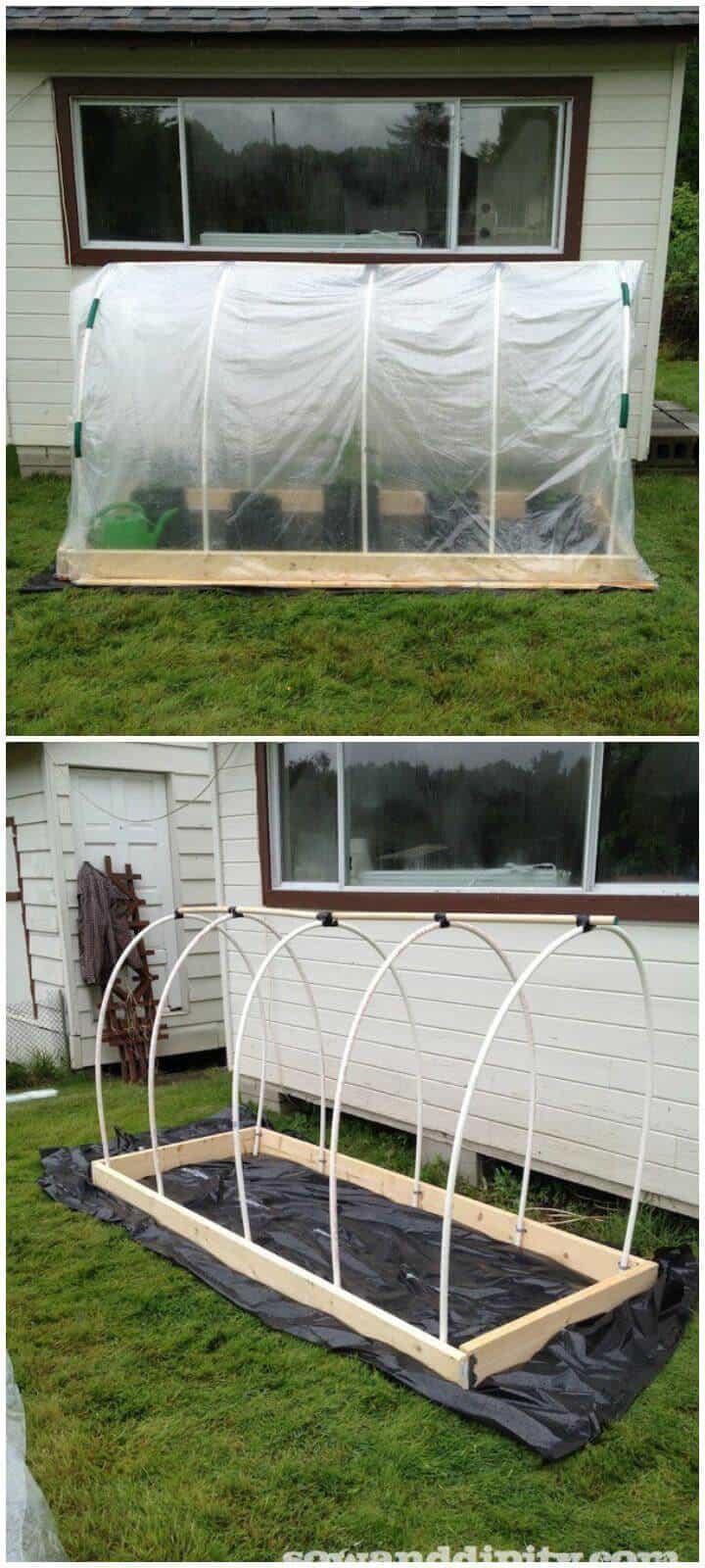 DIY 50 $ invernadero