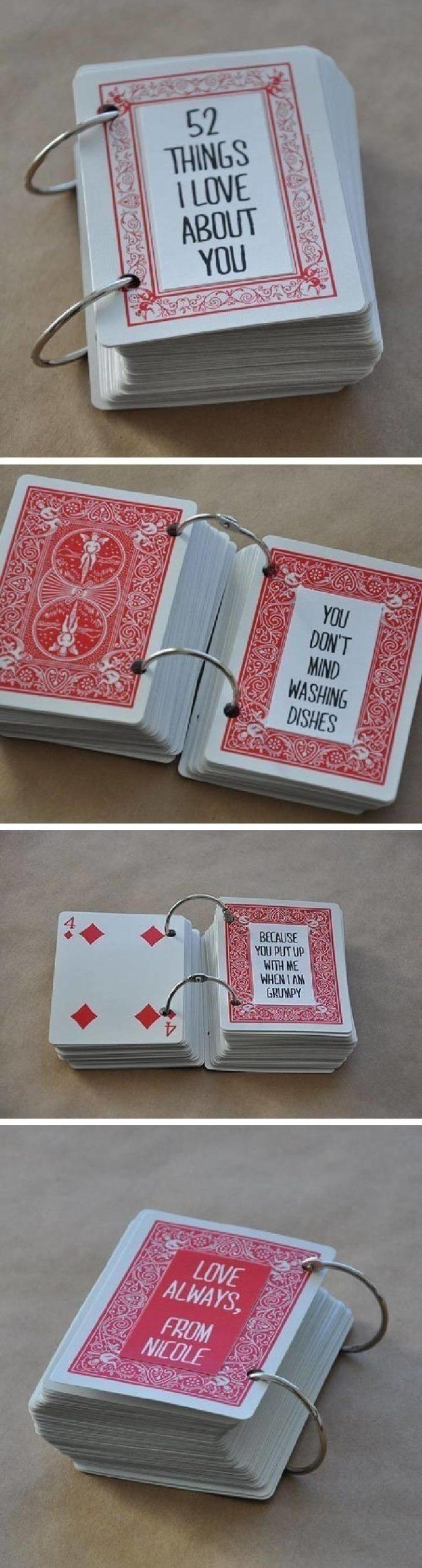 DIY 52 tarjetas de regalo de mini libro con comentarios sobrescritos