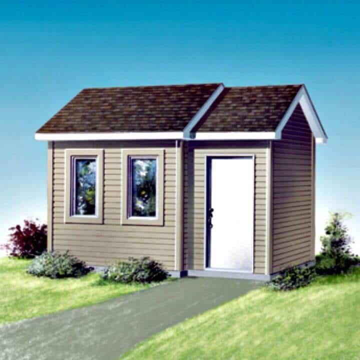 Cómo construir un cobertizo en el patio trasero - Plan gratuito