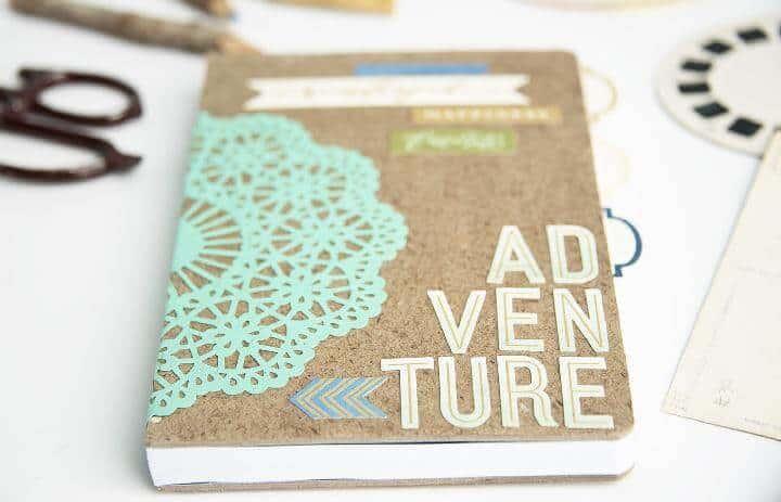 Regalo de cuaderno temático de aventura de bricolaje