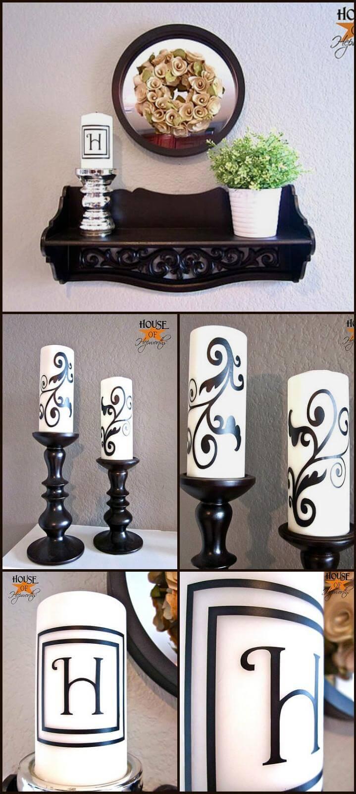 velas de vinilo personalizadas