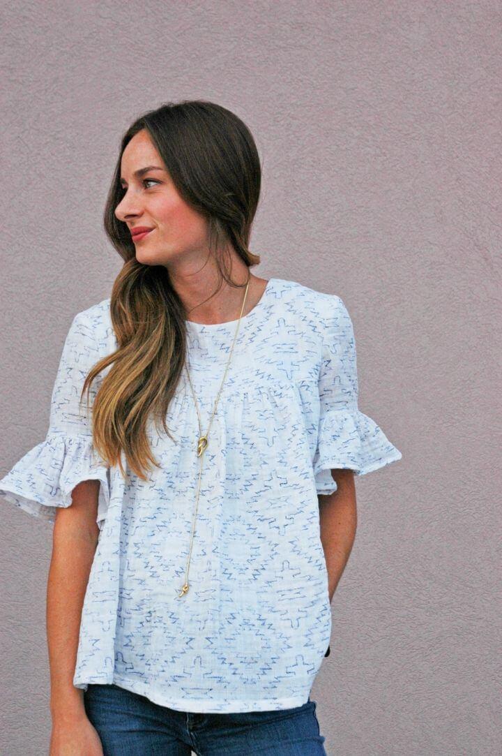 Blusa DIY Boho para principiantes, ¡viene en un encantador atractivo blanco que será amado por todos los amantes de la moda!