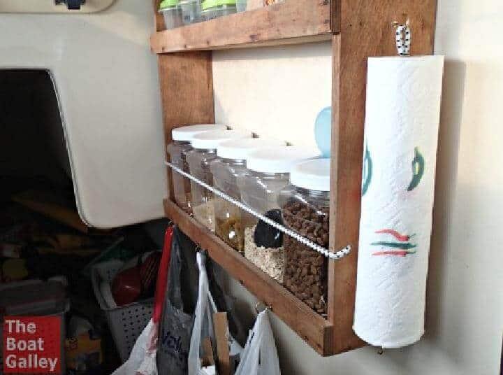 Soporte de estante de cuerda elástica para bricolaje y soporte de torre de papel