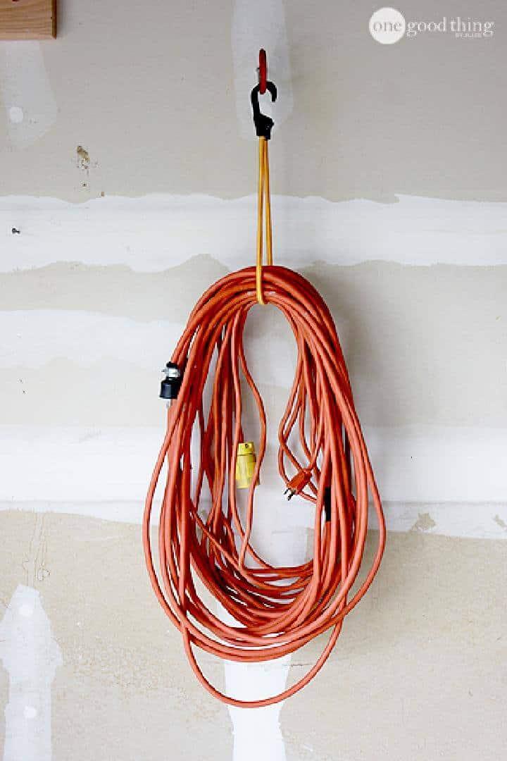Cuerda elástica para bricolaje y gancho para bicicleta Colgador de cable de extensión de tamaño industrial
