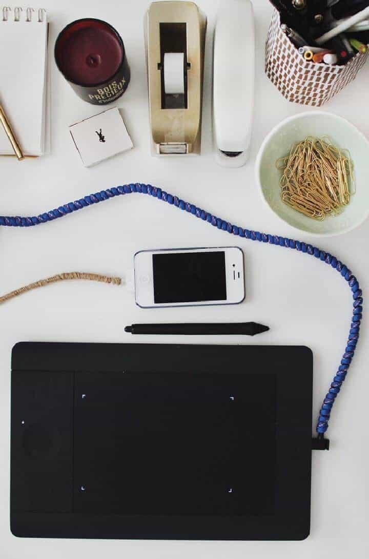 Cordones envueltos elásticos de bricolaje