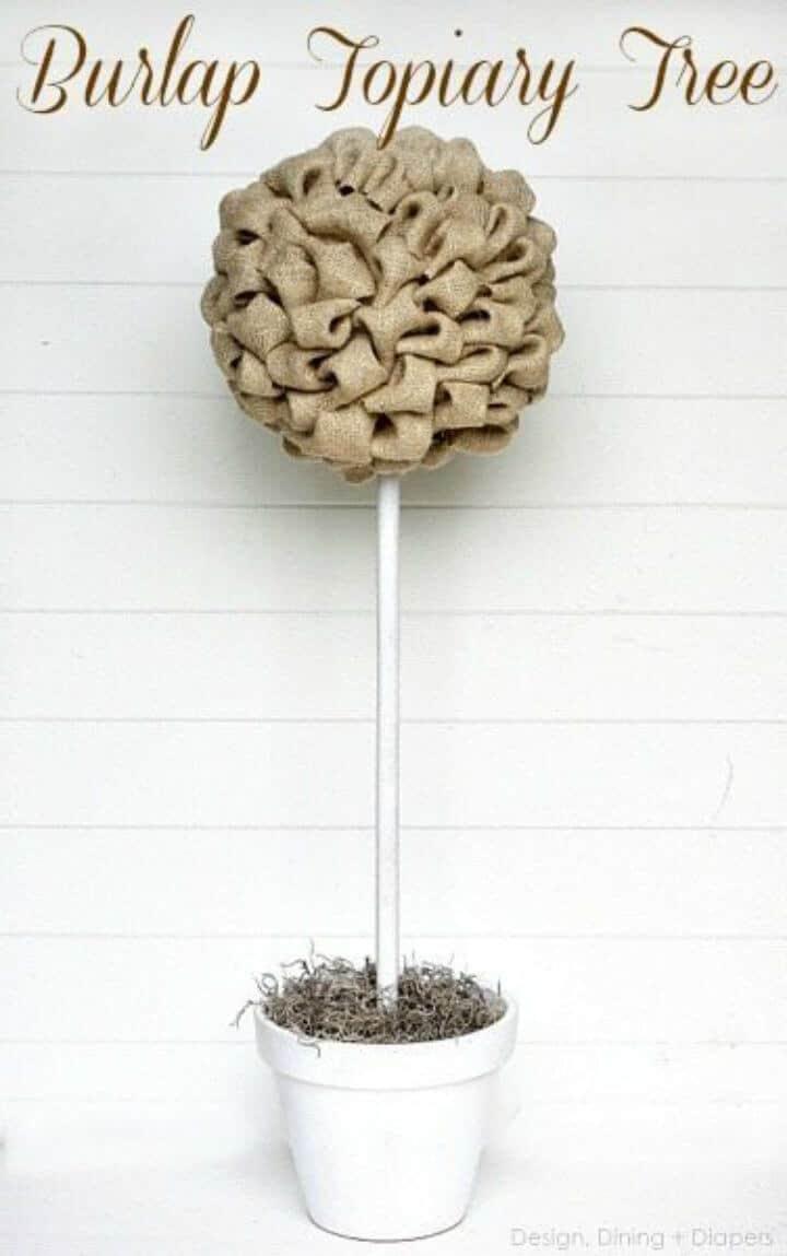 Hacer un árbol de arpillera