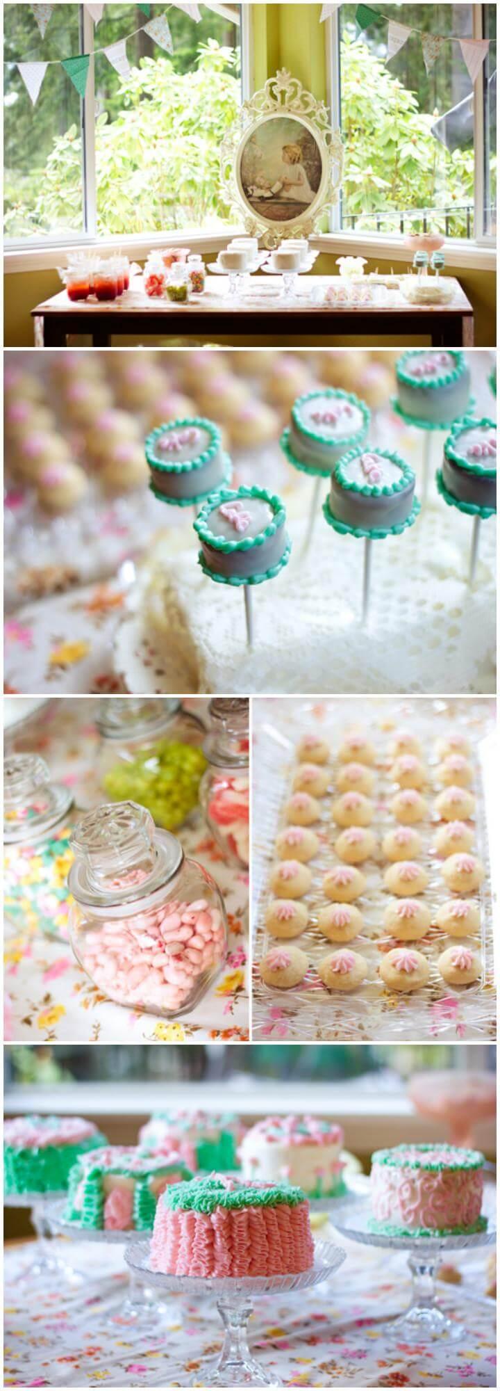 Idea de fiesta de cumpleaños adolescente para decoración de pasteles de bricolaje