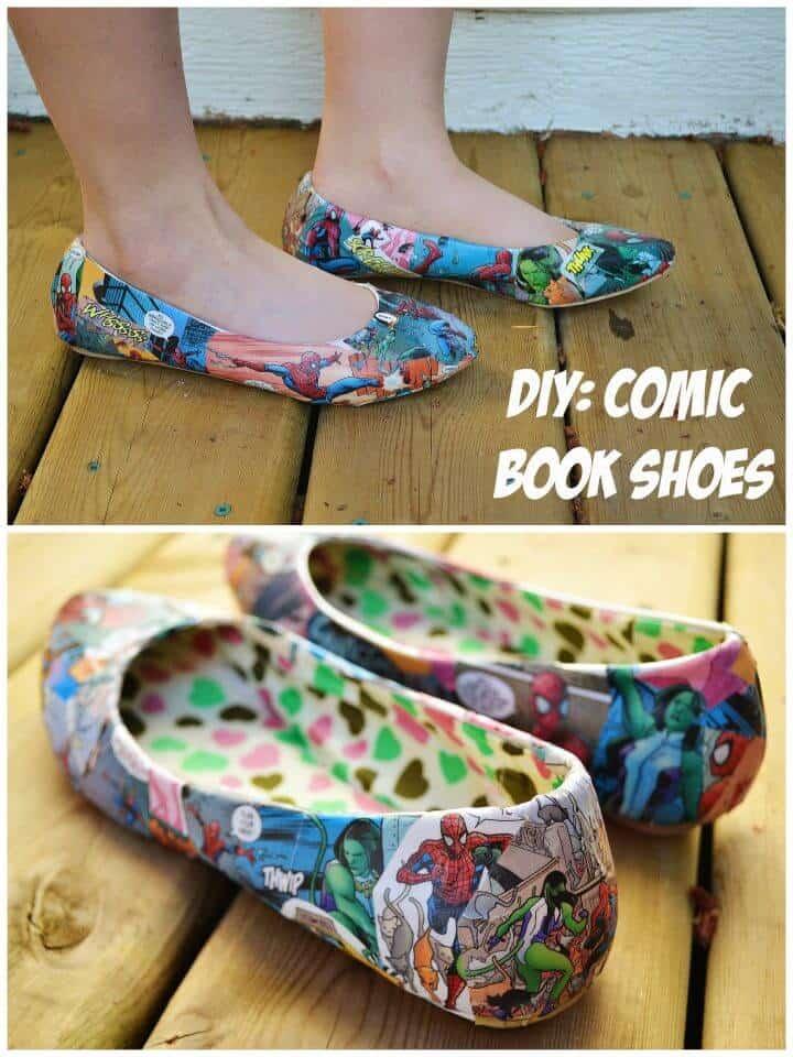 Dibujos para colorear DIY Zapatos