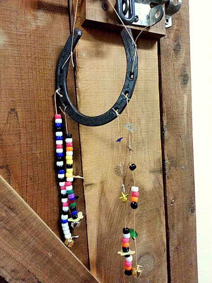 Artesanía de bricolaje para campamento de caballos