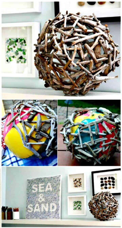 DIY crea un orbe de madera flotante