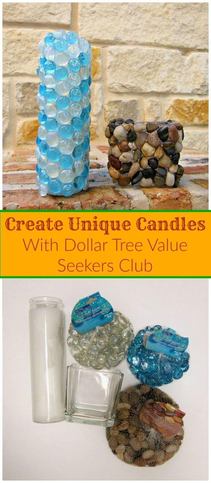 Cree velas únicas con el valor del árbol del dólar