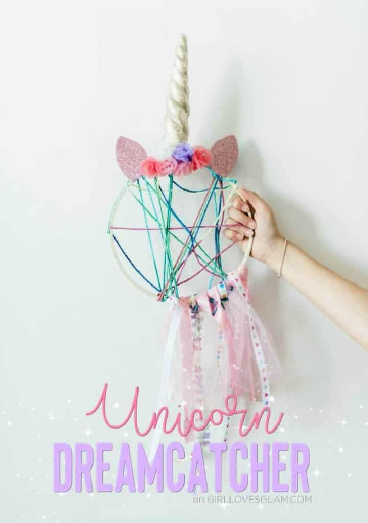 DIY Darling Unicorn Dreamcatcher Craft