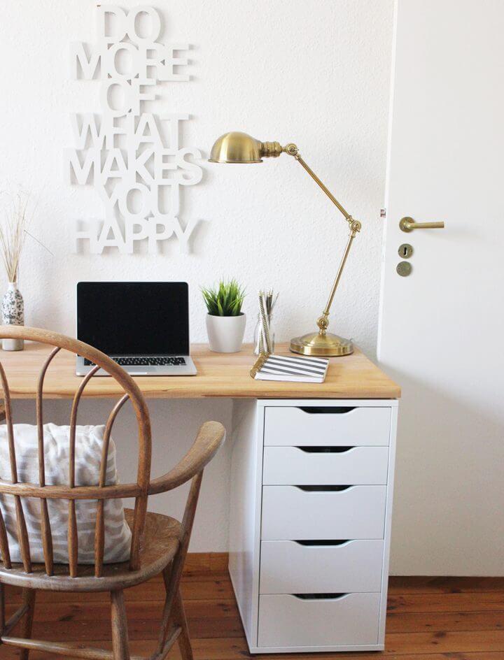 Actualización de la oficina de escritorio de bricolaje