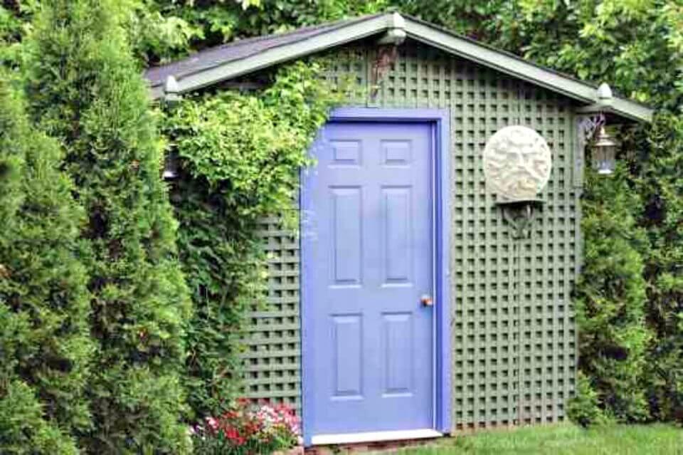 Planos de cobertizo de jardín fáciles de bricolaje