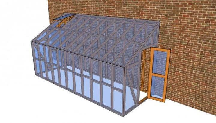 Plan de invernadero fácil de bricolaje