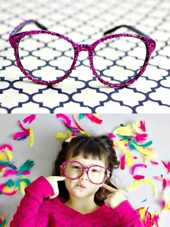 Haz tus propias gafas adornadas para el verano