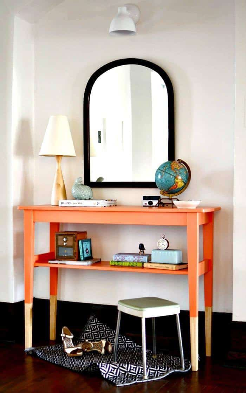 Mesa de entrada de bricolaje de la mesa SVALBO de IKEA