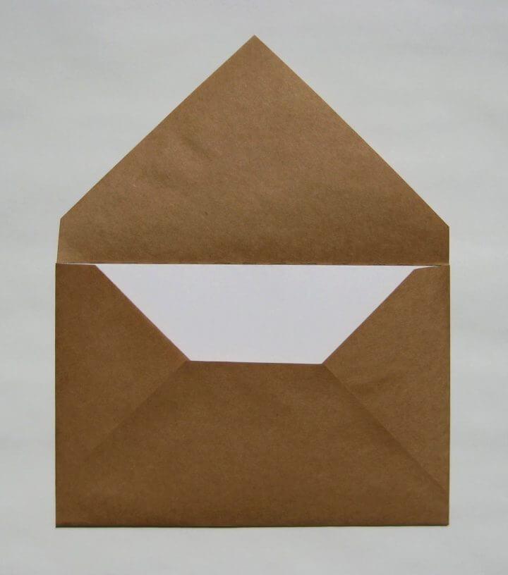 Sobres de bricolaje para tarjetas hechas a mano