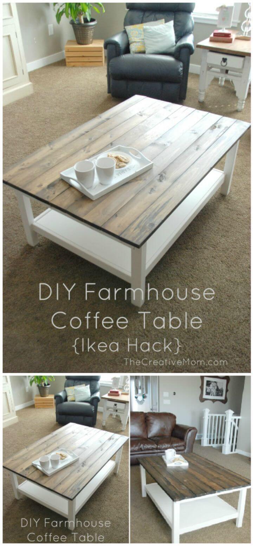 Mesa de centro DIY Farmhouse - Tutorial paso a paso