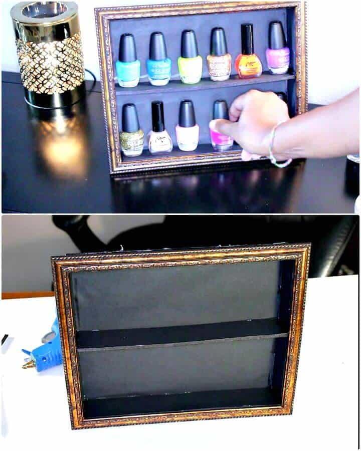 Soporte de exhibición rápido de esmalte de uñas para bricolaje