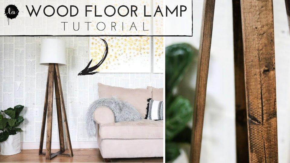 Lámpara de pie DIY Big Reveal