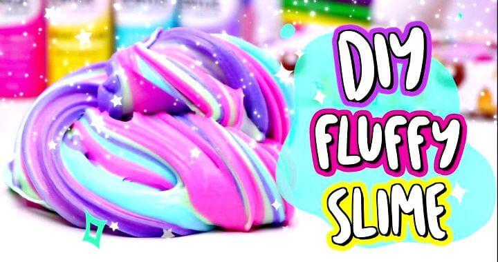 ¡Hazlo tú mismo con limo esponjoso!  Cómo hacer el MEJOR slime casero