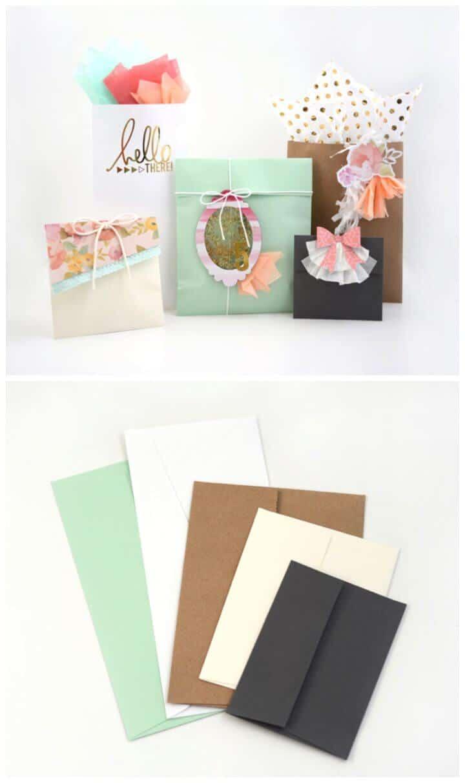 Bolsas de regalos de bricolaje que puede hacer en solo 10 minutos