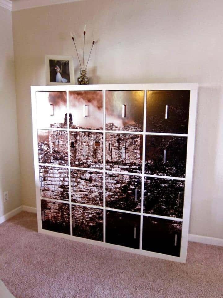 Bricolaje IKEA Expedit Canvas Photo Art Piece