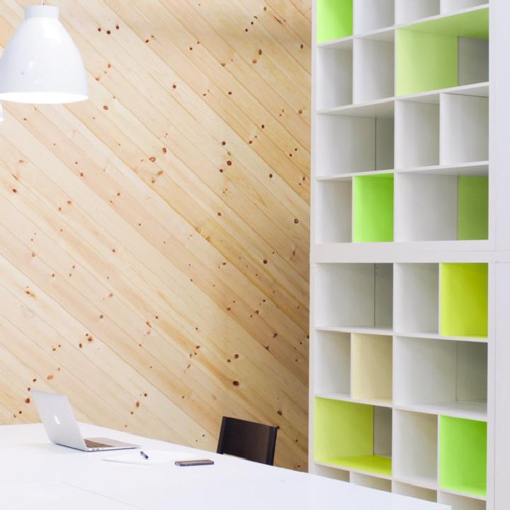 Estanterías DIY IKEA Kallax Neon