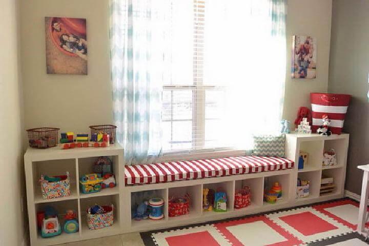 Almacenamiento de bricolaje IKEA Kallax Playroom
