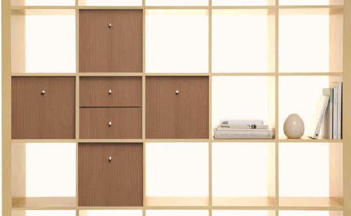 Estantería y almacenamiento Kallax de IKEA para bricolaje