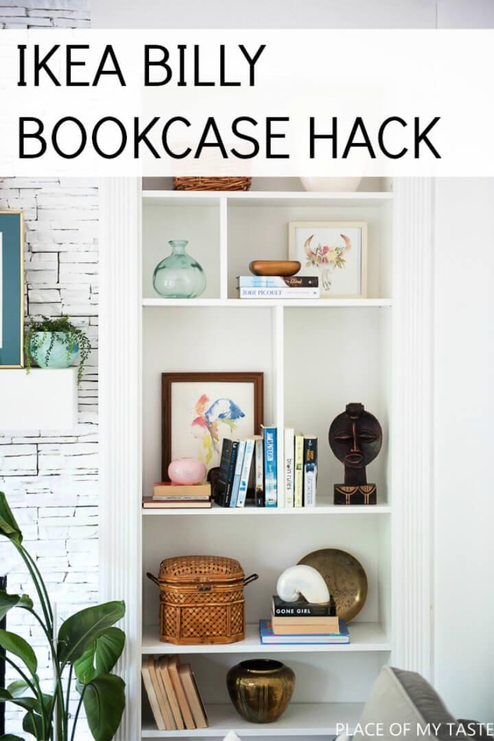 DIY Ikea Billy Librería incorporada
