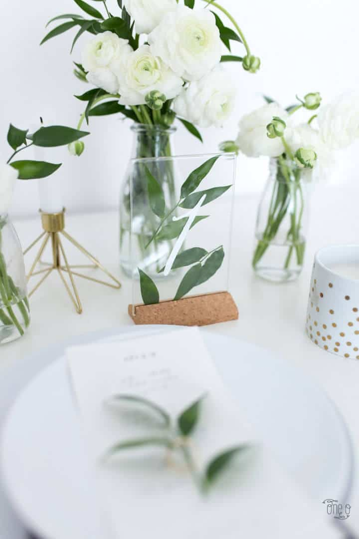 Número de mesa de boda DIY Ikea Hack