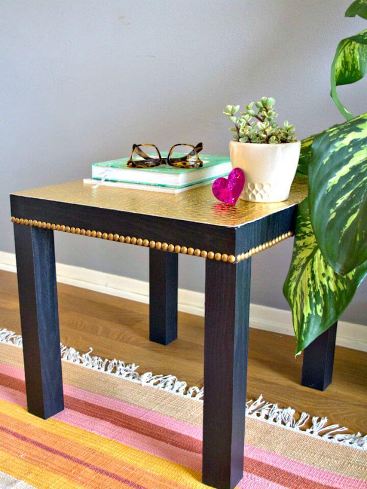 Cómo actualizar el tutorial de Ikea Lack Table