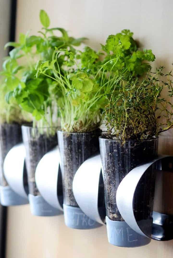 Jardín de hierbas para interiores de bricolaje IKEA Hack