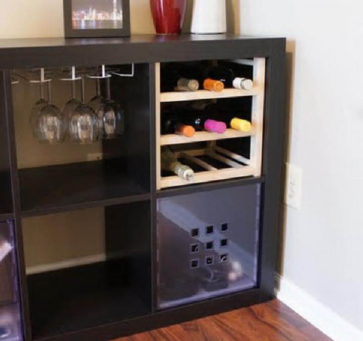 Unidad de almacenamiento de bebidas DIY Kallax