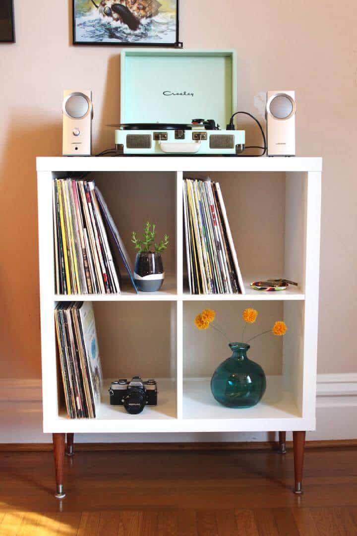 Estante para discos de vinilo DIY Kallax