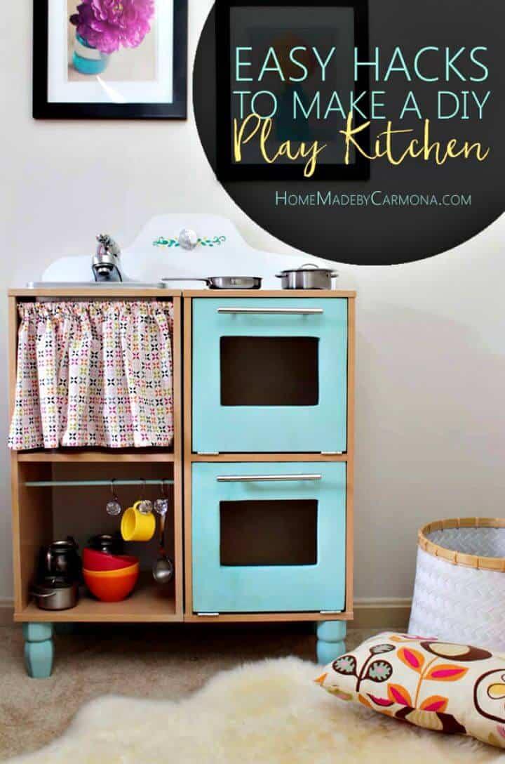 Juego de cocina para niños DIY