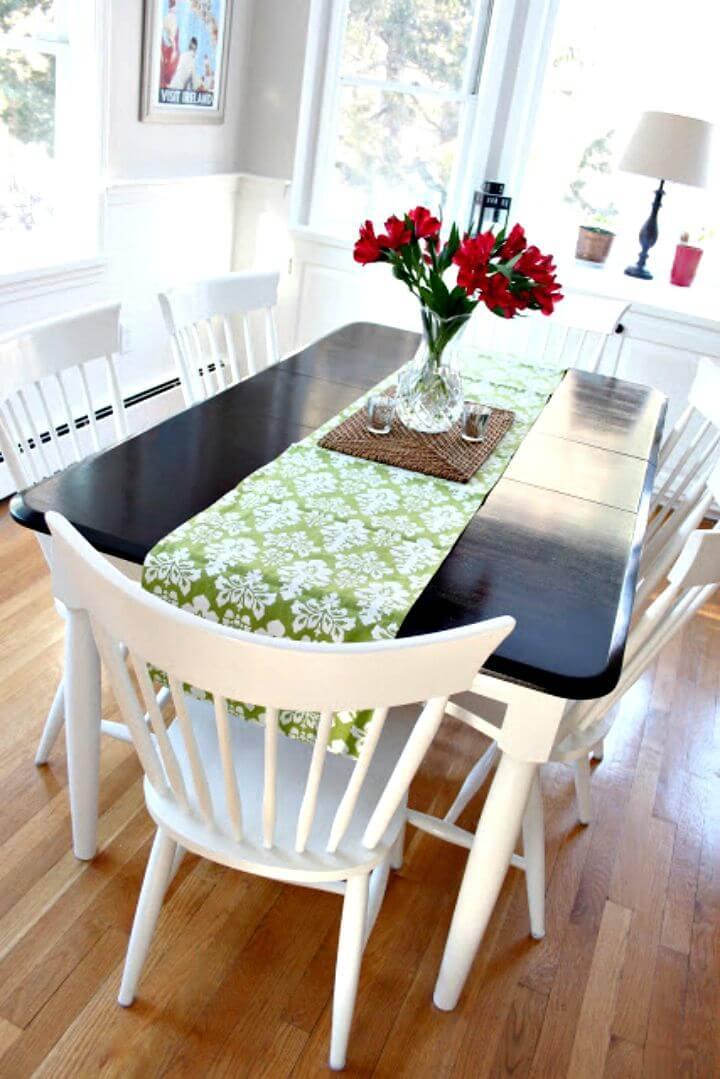 Cambio de imagen de la mesa de cocina de bricolaje - Tutorial gratuito