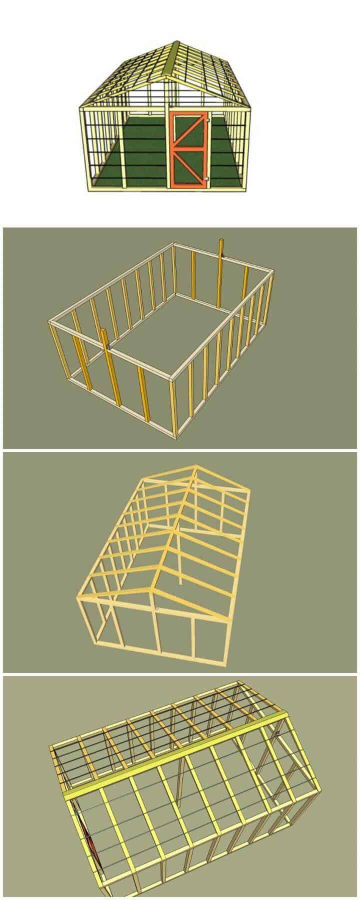 Planes de bricolaje de bajo costo para mini invernaderos