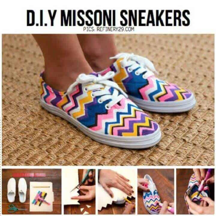 Zapatillas DIY Missoni