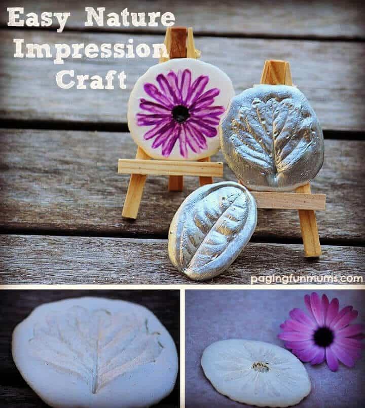 Arte de la impresión de la naturaleza de bricolaje