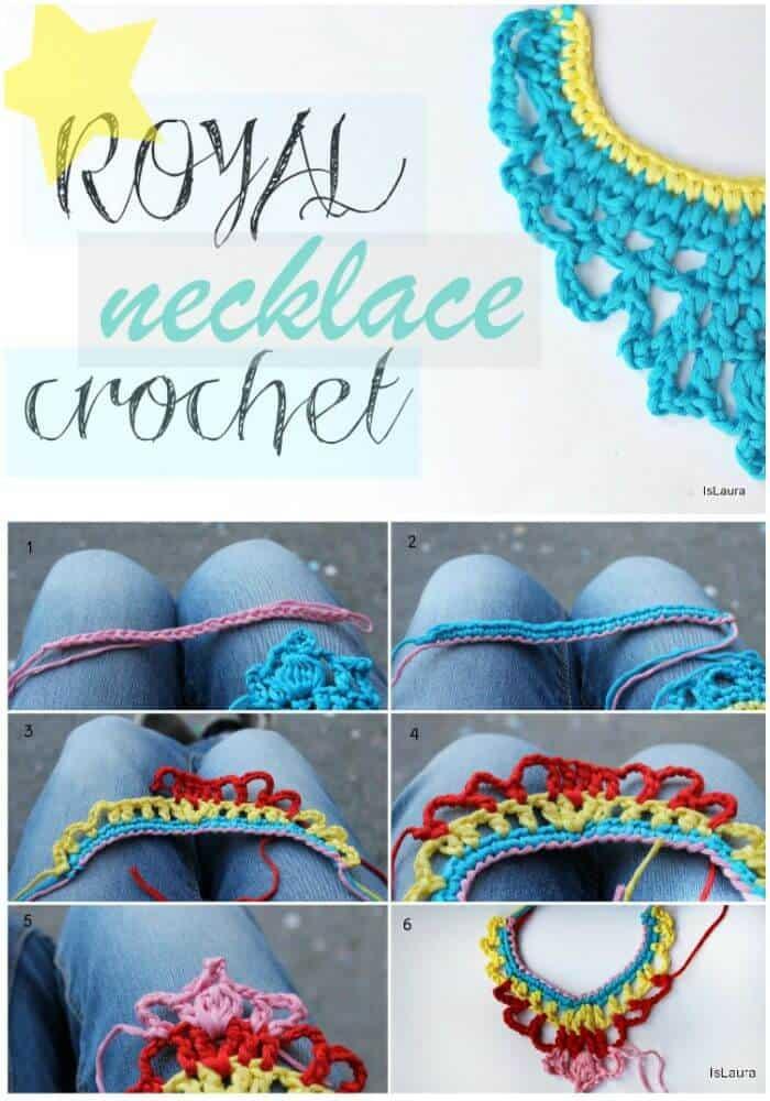 Hazlo tu mismo crochet real en algodón - patrón gratuito