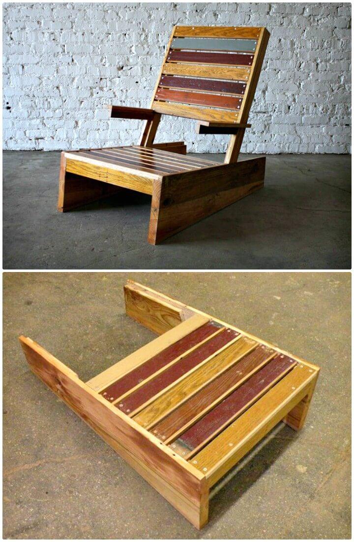 Silla DIY Scrap Adirondack - Ideas de muebles de jardín