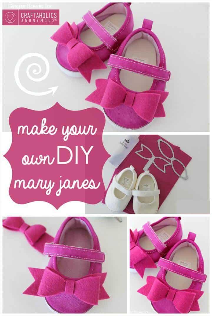 Mary Janes DIY fácil pero elegante