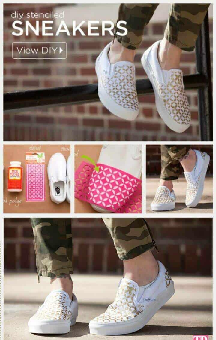 Zapatillas de bricolaje sin cordones