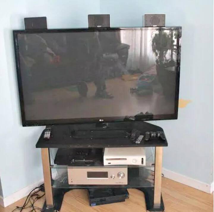 Tutorial de proyecto de fin de semana de soporte de TV para bricolaje