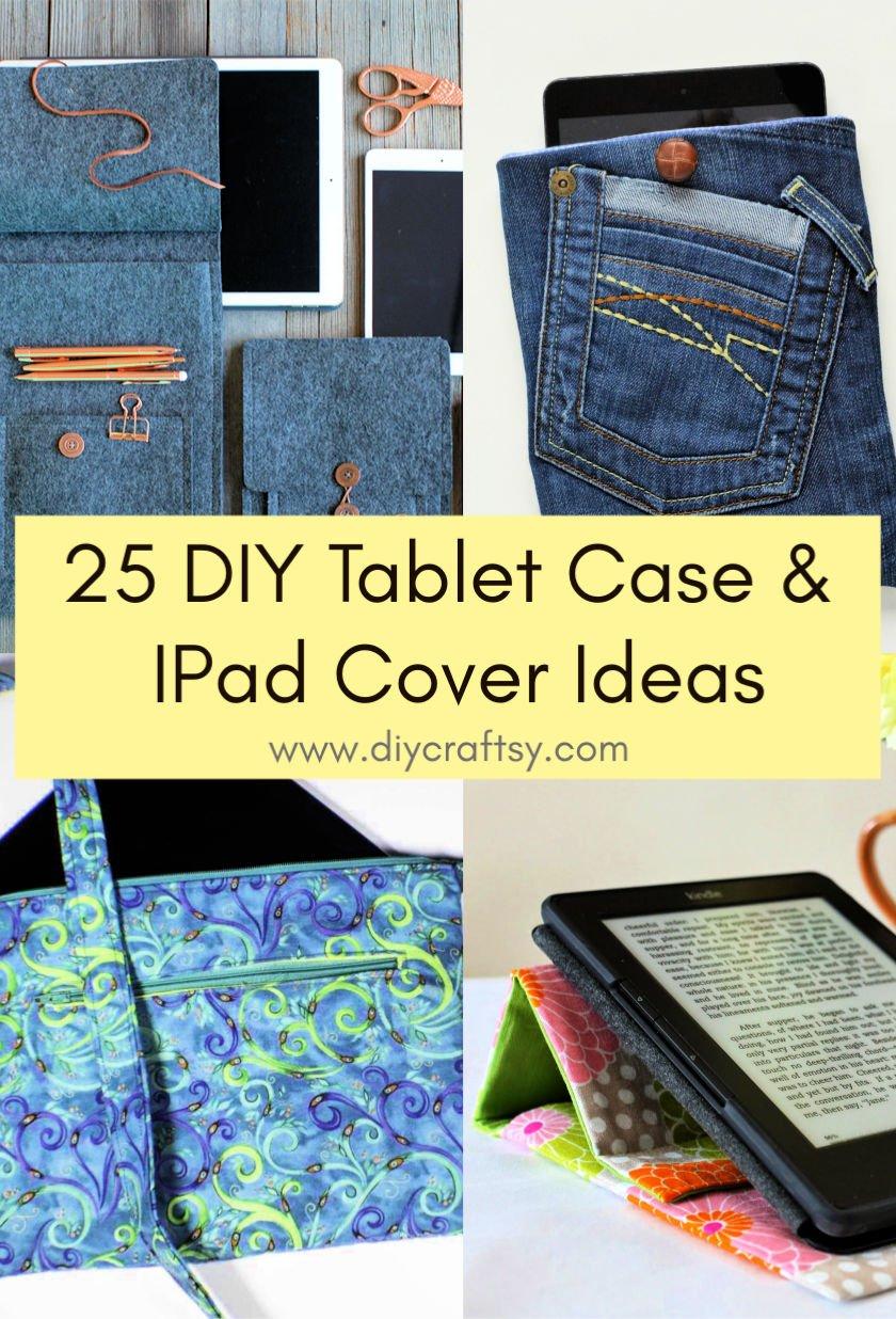Ideas de fundas para tablets y fundas para iPad